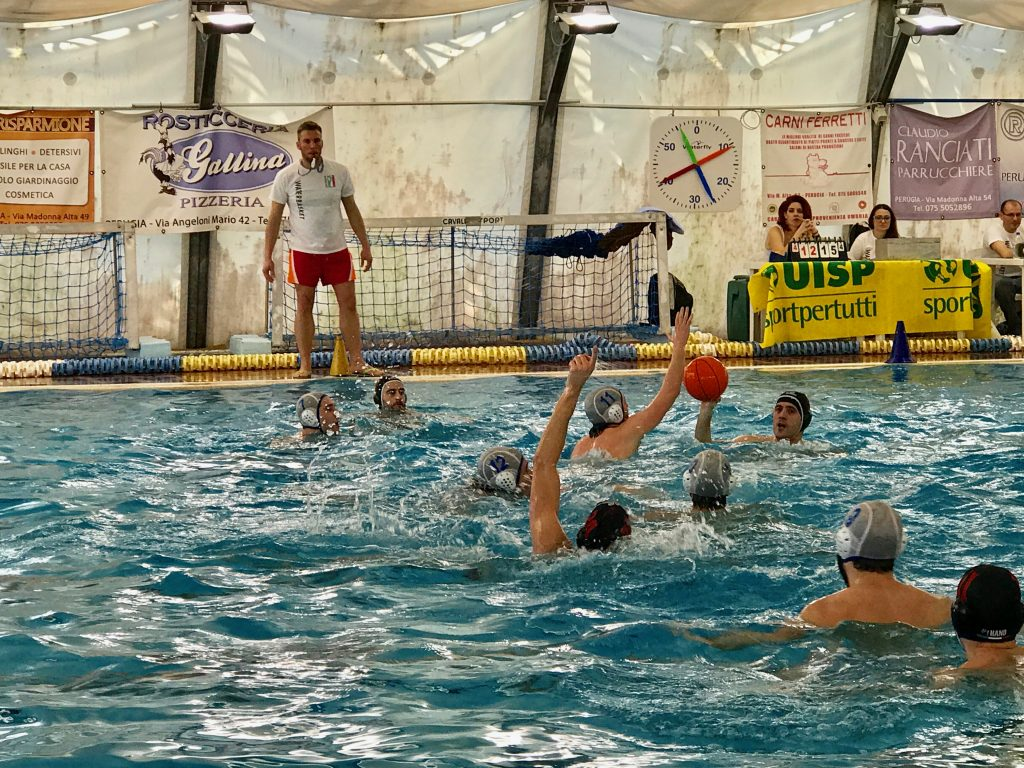 waterbasketball match
